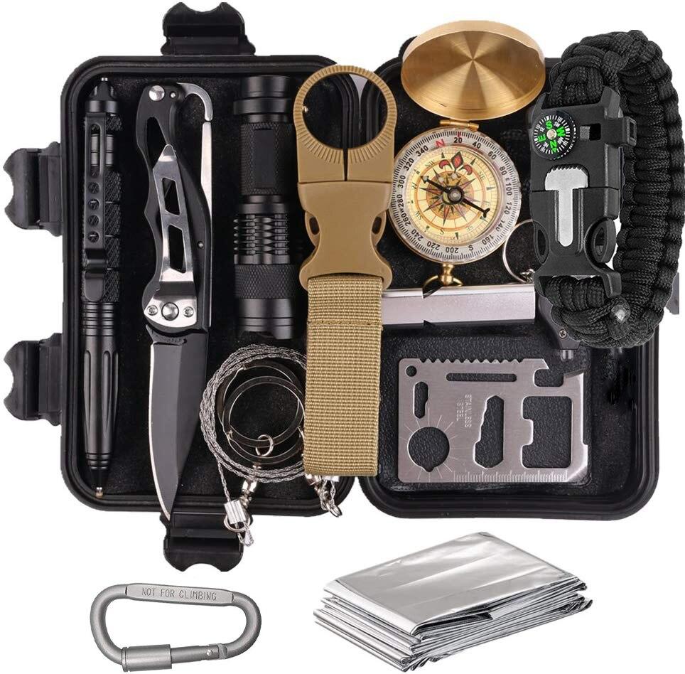 Mini Survival Kit Camping Military Set 15