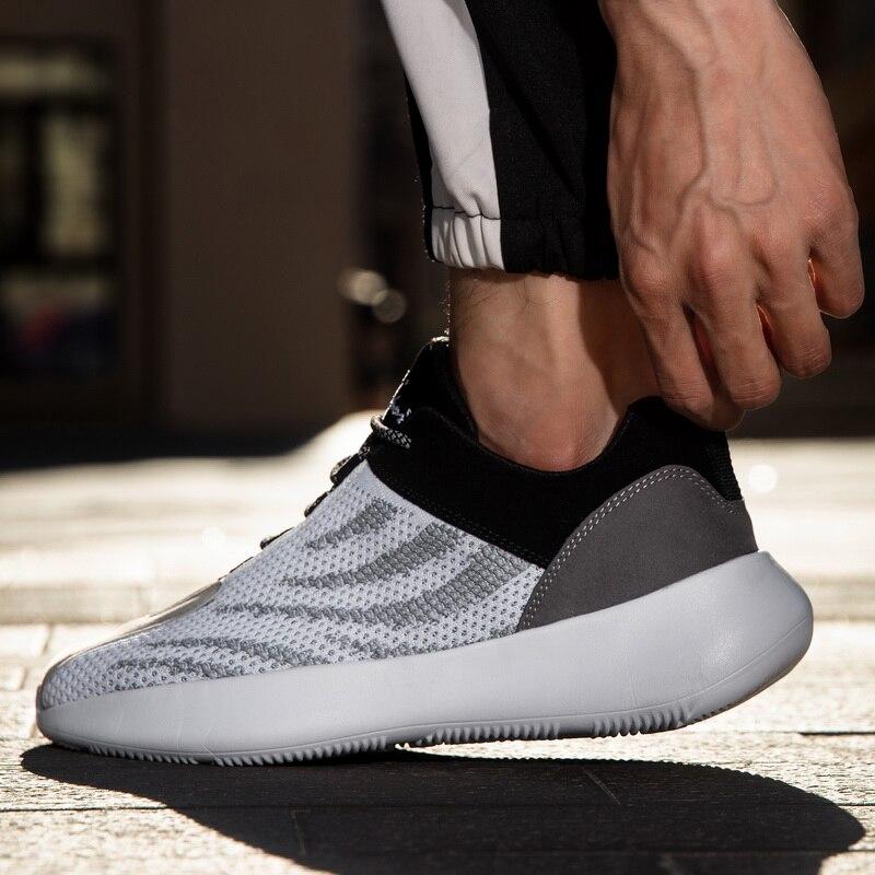 2020 Hot Sale Men Sport Shoes Breathable Sneaker Running Shoes 45 Large Size Comfortable Sports Men's Shoes Jogging Walking Shoe