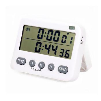 Minuterie de cuisine numérique compte à rebours/Up 99H 59Min 59S horloge d'affichage LCD fort pour cuisinier