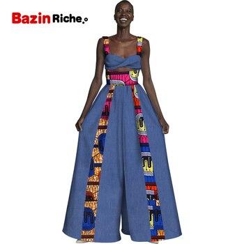 Мужские рубашки в африканском стиле, комплект из 2 предметов 2020 новые модные кожаные сумки в африканском стиле; Комплекты со штанами и Для же