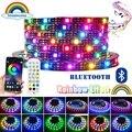 Светодиодные ленты RGBIC5050 мечта Цвет полосы светильник s 12V до радужного цвета Цвет Изменение светодиодные ленты светильник ws2811Bluetooth музыка в...