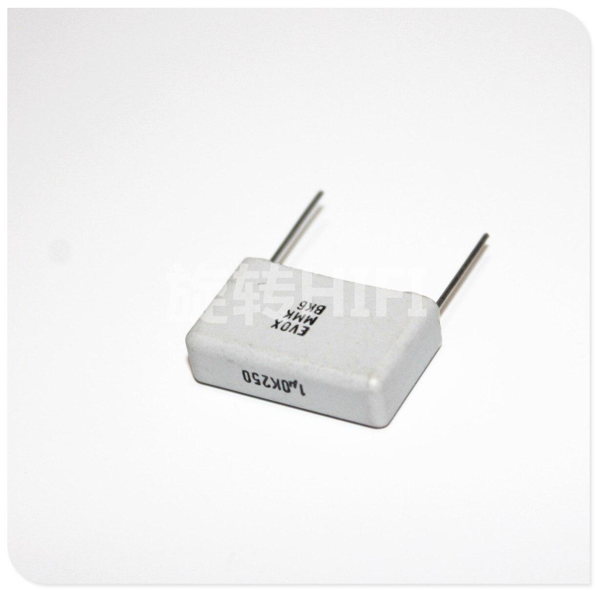 KEMET EVOX MMK22.5 Febrile Nonpolar Film Capacitor P22mm WHITE CAP 1UF 1.5UF 2.2UF 2.7UF 250V 400V 100V 105 155 225 275