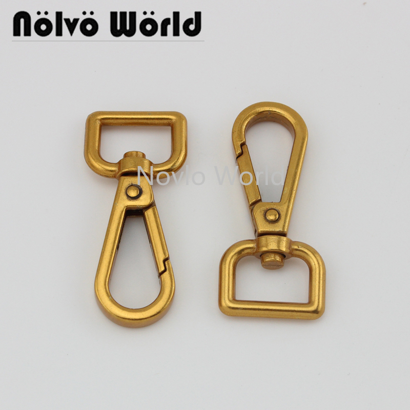 4 Pieces, 48.7*15mm,high Quality Old Gold Metal Buckle Dog Collar Buckle Chain Clasp Lobster Swivel Snap Hook Buckle Accessories