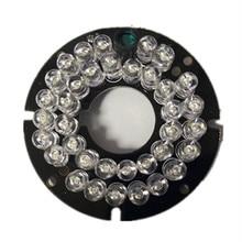 5PCS/LOT 36 LEDS 5mm Infrared IR Led Board For Camera 90 Degree Bulb 53mm diameter