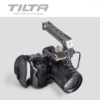 Image 2 - Tilta TA T17 A G Rig Cage For Sony A7II A7III A7S A7S II A7R II A7R IV A9 Rig Cage For SONY A7/A9 series Tiltaing VS Smallring-in Photo Studio Accessories from Consumer Electronics