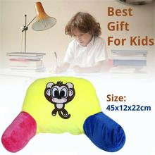 цены OUTAD Bed Reading Rest Waist Back Cushion Polyester Fill Bedrest With Arm Support Chair Car Seat Sofa Rest Lumbar Cushion