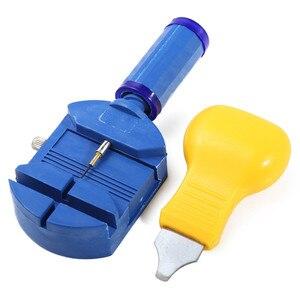 Image 2 - New Watch Repair Tool Kit Watch Link Pin Remover Case Opener Spring Bar Remover Horlogemaker Gereedschap Repair Tool Kit