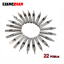 High Quality 1 Set 22PCS 304 Stainless Steel Tatto