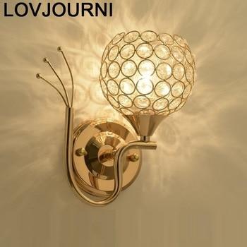 Modern Techo Colgante Moderna Lamp Dressing Table Applique Murale Lampara De Interior Led Aplique Luz Pared Bedroom Wall Light