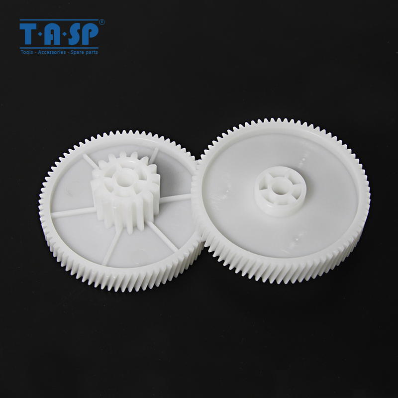 2pcs Gears Spare Parts For Meat Grinder Plastic Mincer Gear Pinion PLR020 For Polaris PMG 1605, 1805, 2005 Maxwell Kitchen
