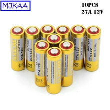 цена на 10pcs/lot 12V 27A MN27 27A L828 A27 Super Alkaline battery For Doorbell Remote Control Flashlight