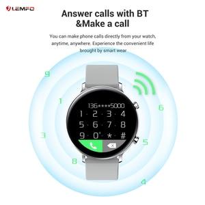 Image 3 - LEMFO GW33 Smart Watch Men Bluetooth Call IP67 Waterproof Fitness Tracker Sleep/Heart Rate/Blood Pressure Monitor Sports Watch