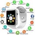 Reloj de pulsera deportivo Bluetooth A1 compatible con cámara 2G SIM TF Smartwatch para teléfono Android PK GT08 DZ09 Q18 Y1 V8
