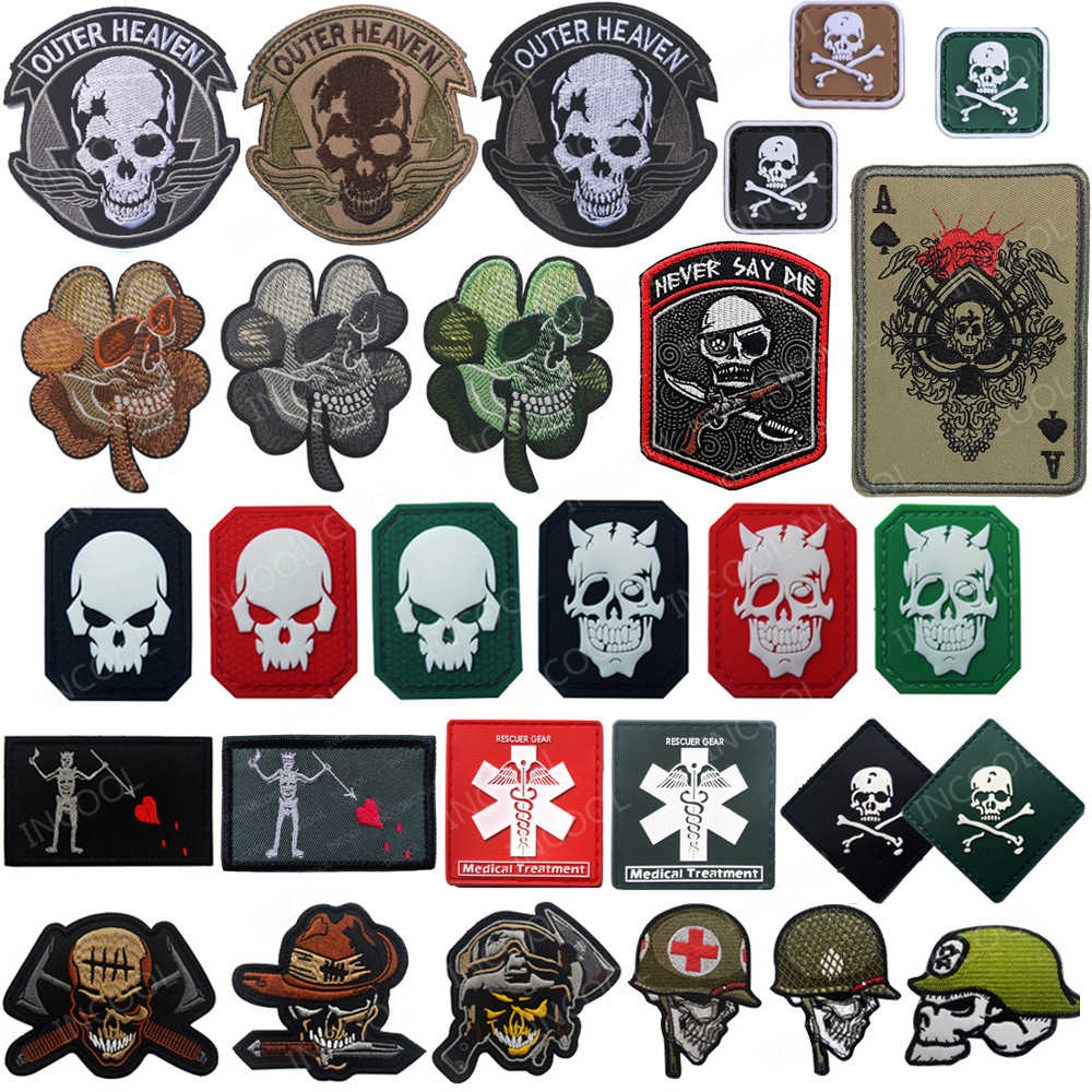 Brown Tactical Movie Skull Shield Mercenary Bounty Hunter Badge Emblem Military Embroidered Badge Emblem Patch Hook /& Loop Tactical Patch for Backpacks Caps Jersey Jeans Jacket