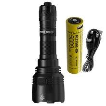 NITECORE nowy P30 latarka myśliwska XP L HI V3 max 1000 lumenów długi rzut 618 metr latarka 21700 USB C akumulator Li