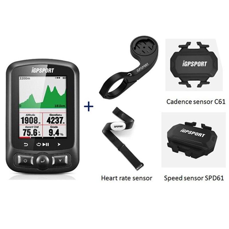 Color Screen Cycle Computer Gps IGS618 IGPSPORT Gps Tracker Bike Navigation Speedometer IPX7 3000 Hours Data Storage