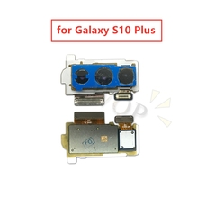for Samsung Galaxy S10 Plus Back Camera Big Rear Main Camera Module Flex Cable Assembly Replacement Repair Parts