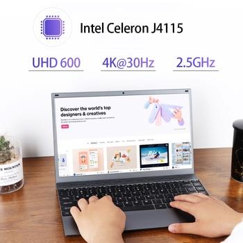 Laptop KUU XBook, 14.1″ FHD (1.920×1.080) IPS, Intel Celeron J4005, 8GB RAM, 256GB/512GB SSD, Ultra HD Graphics 600, Windows 10 3