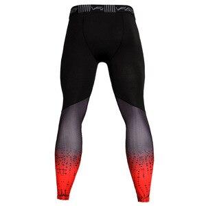 Angexport, для спортивного зала, леггинсы, Для мужчин в стиле пэчворк компрессионные брюки 87% полиэстер 13% Спандекс Велоспорт Бег Размеры 3XL|Беговые трико|   | АлиЭкспресс