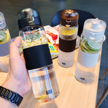 800ML Shaker Sports Water Bottles Creative Outdoor Camping Tour My Drink Bottle for Water Plastic Drinkware Seal Up Leak Proof sport water bottles protein shaker camping hiking drink bottle for water 560 800 1000ml bpa free plastic drinkware my bottle