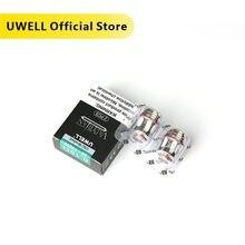 UWELL 5 упаковок 10 шт. VALYRIAN сменная катушка сетчатая катушка 0,18 Ом/0,15 Ом 95 120 Вт для валирийского бака электронная сигарета