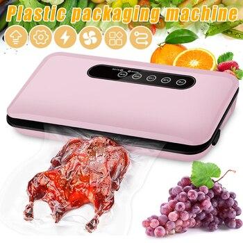 New Small Vacuum Sealer Automatic Food Saver Machine Household Automatic Vacuum Packaging Machine VJ-Drop