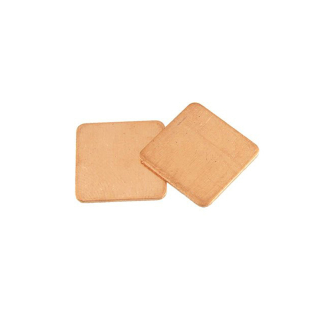 15x15mm Copper Heatsink Thermal Pads,Plate Copper Laptop RAM CPU GPU Memory IC Chipset Cooling Radiator 0.1mm 0.5mm 0.8mm 10pcs