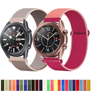 20/22mm band For Galaxy Watch 341 mm/45mm/active 2 strap Samsung Gear S3 Frontier Sport Nylon Bracelet Huawei watch GT 2 42/46mm
