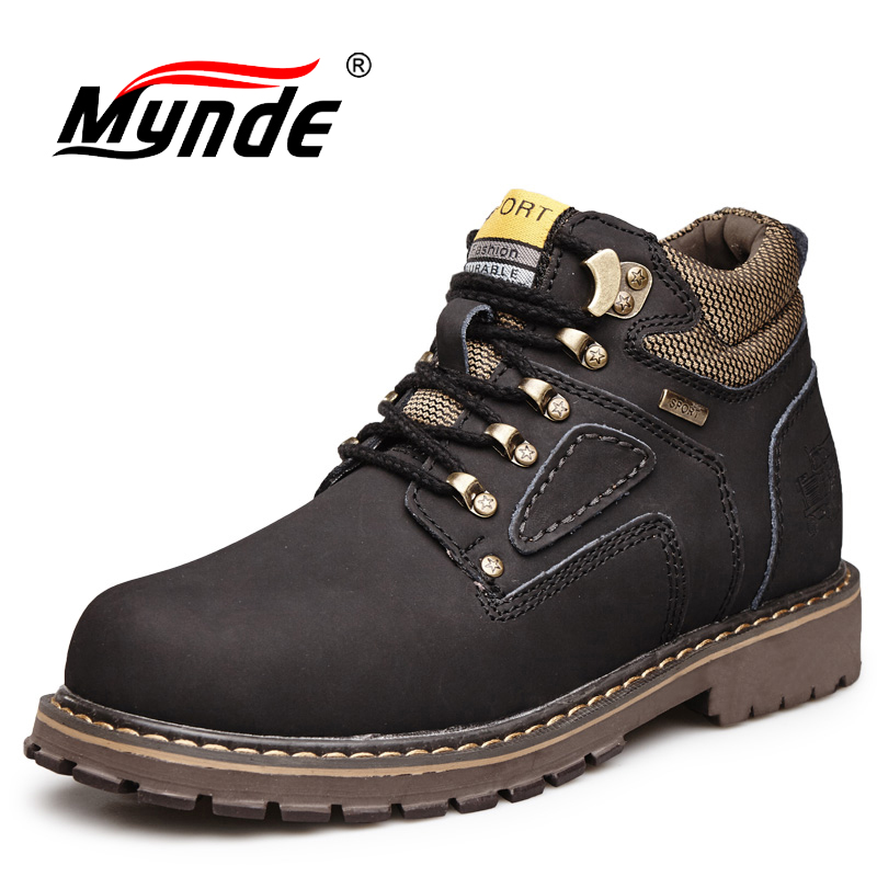 New Winter Men Ankle Boots Motorcycle Fur Plush Warm Classic Fashion Snow Boot Autumn Men Casual Outdoor Working Safety Boots