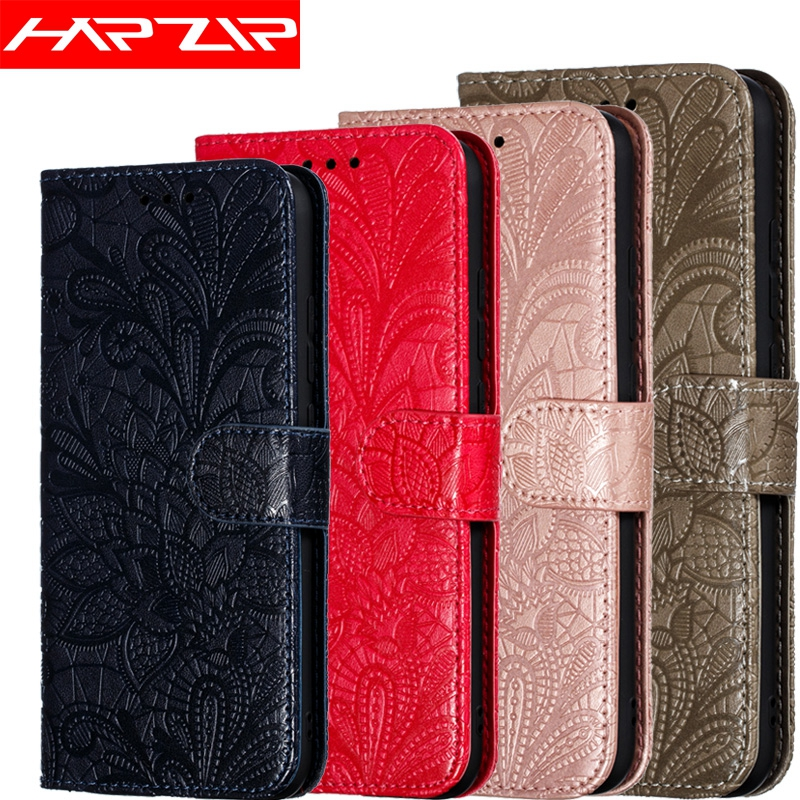 3D Flower Leather <font><b>Flip</b></font> Cover For Huawei <font><b>Honor</b></font> 8S 8A 8C 8X V20 Mate 20 <font><b>7C</b></font> 7A Pro 10 P30 Lite Y9 Y6 Y7 2019 Y5 2018 JAT-L29 <font><b>Case</b></font> image