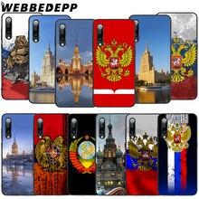 WEBBEDEPP Russian Flag Soft TPU Case for Xiaomi Mi 6 8 A2 Lite 9 A1 Mix 2s Max 3 F1 9T A3 Pro CC9E Cover