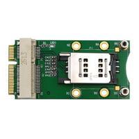Mini PCI Express Adapter For 3G 4G Module with USIM Slot MINI PCI E to Mini PCI-E Riser Card Support 3G/4G WWAN LTE GPS Card