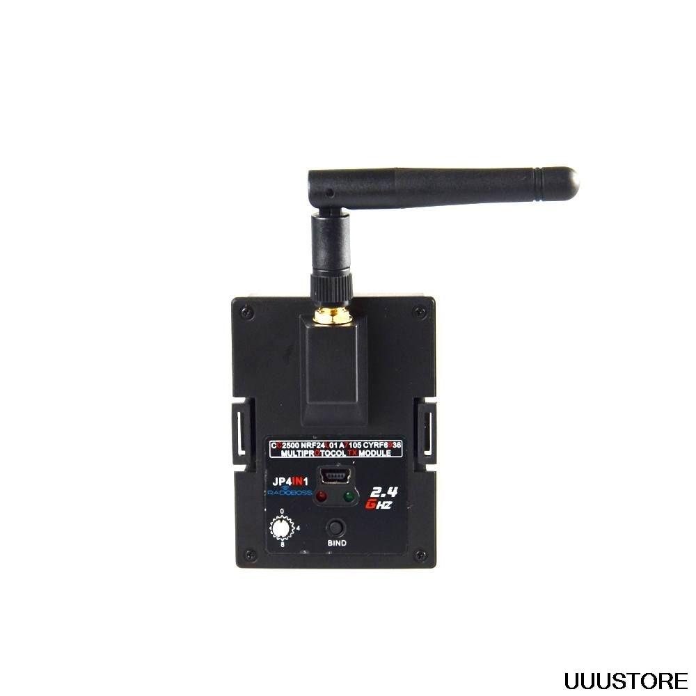 RADIOBOSS Jumper JP4IN1 2.4G CC2500 NRF24L01 A7105 CYRF6936 4 IN 1 Multiprotocol STM32 TX Module OpenTX For Frsky JR RC Drone