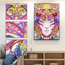 5D DIY Diamond Painting Queen Embroidery Cross Stitch 3D Home Art Decoration Rhinestones Diamond Mosaic Painting Christmas Gift(China)
