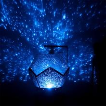LED Night Light Romantic Rotating Projector Starry Sky Star Projector Lamp Luminaria Baby Nursery Light For Birthday Gift