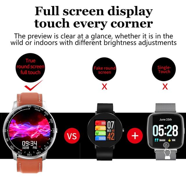 LIGE 2020 New Smart Watch Men Women Watch Heart Rate Monitor Music Control For Android/iPhone IP68 Waterproof Sport Smartwatch 2