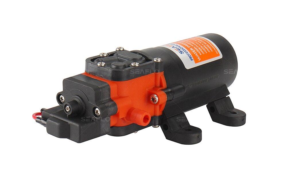 Seaflo High Pressure Marine Water Diaphragm Pump 24V DC 55PSI 5.0 GPM