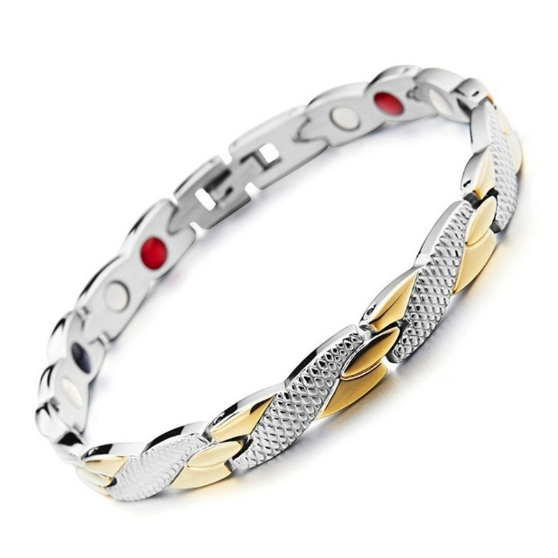 Twisted Dragon Pattern Healthy Care Magnetic Magnet Bracelet For Women Power Therapy Magnets Bracelets Bangles For Women Men