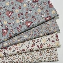 100% Katoen Cartoon Kinderen Katoenen Doek Voor Diy Naaien Textiel Tecido Tissue Patchwork Beddengoed Materiaal