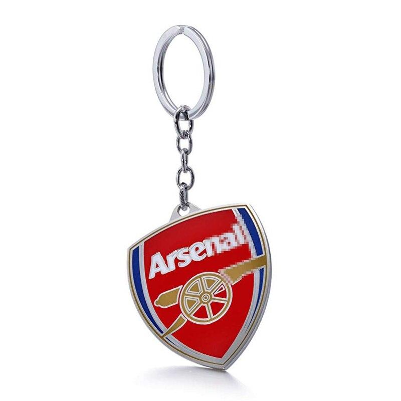 Arsenal F.C Football Club Soccer Team Logo Metal Pendant Keychain For Soccer Fans