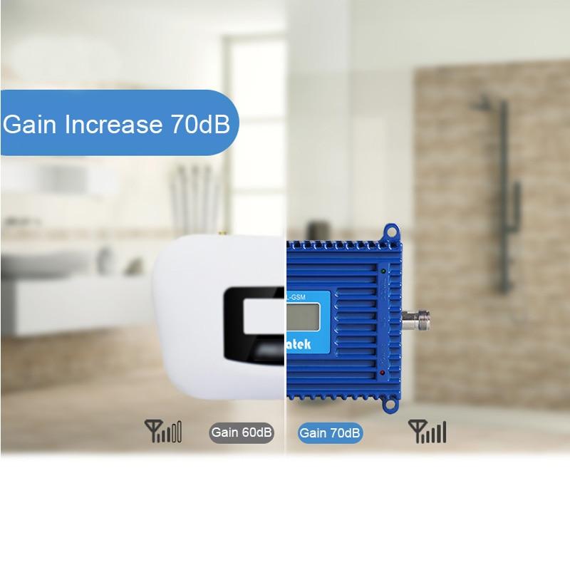 Lintratek 70dB 3G Signal Repeater 2100MHz AGC Signal Amplifier 3G - Reservdelar och tillbehör för mobiltelefoner - Foto 5