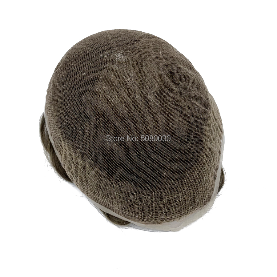 Best Seller Have In Stock Quality Swiss Lace Human Hair Mens Toupees