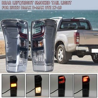 Rear Left/Right Smoked Black Red Tail Light Brake Lamp LED For Isuzu DMax D Max Ute 2017 2018 2019 R:8961253983 L:898125393