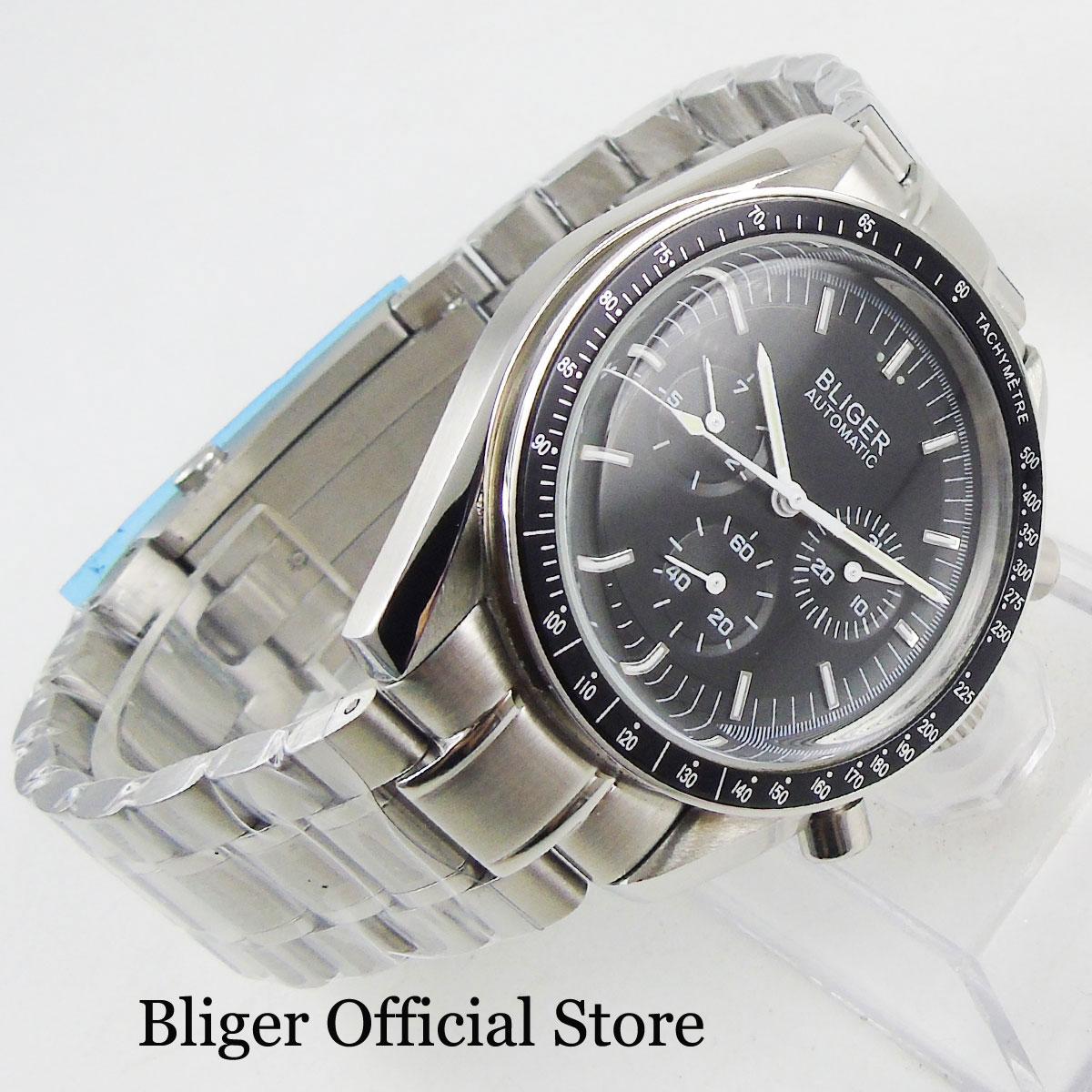 Relógio masculino na cor preta, relógio de