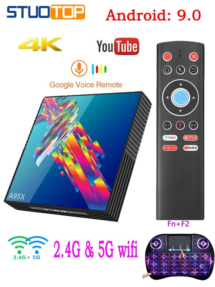 Media-Player Set-Top-Box Iptv A95x R3 Rk3318 Mini Android 9.0 Netflix 4K 2gb16gb 4GB