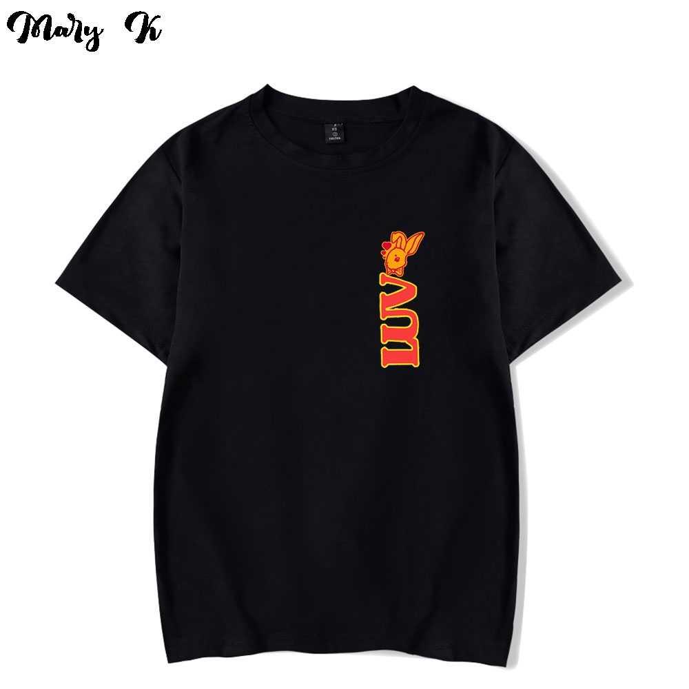 Camiseta de cuello redondo de manga corta para hombre y mujer, camisa divertida de cuello redondo de gran tamaño de estilo casual