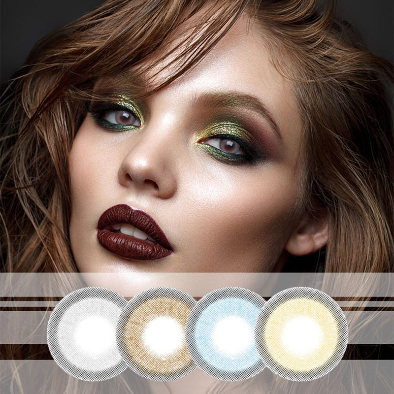 Mrs H Beautiful Pupil Color Contact Lenses 14mm Big Eyes Cute Multicolor Party Gift Cartoon Girl Decoration Natural Cosplay Contact Lenses Aliexpress