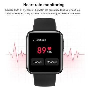 Xiaomi Mi Watch Lite Bluetooth Smart Watch GPS 5ATM Waterproof SmartWatch Fitness Heart Rate Monitor mi band Global Version 4