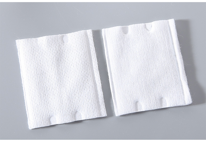 Lameila одноразовые хлопковые слоеные салфетки для лица трехслойная прессованная отделка толстые ватные диски; Бумажные 50 шт напрямую от производителя