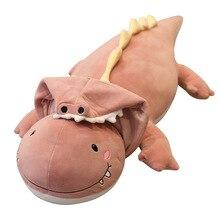 Creative Super Stuffed Plush Animals Dinosaur Cosplay Crocodile Cute Toy Plushies Toys Kawaii Soft Plushie AP